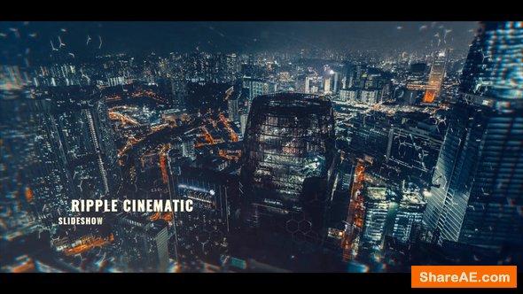 Videohive Ripple Cinematic Slideshow