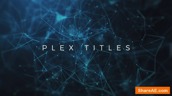 Videohive Plex Titles