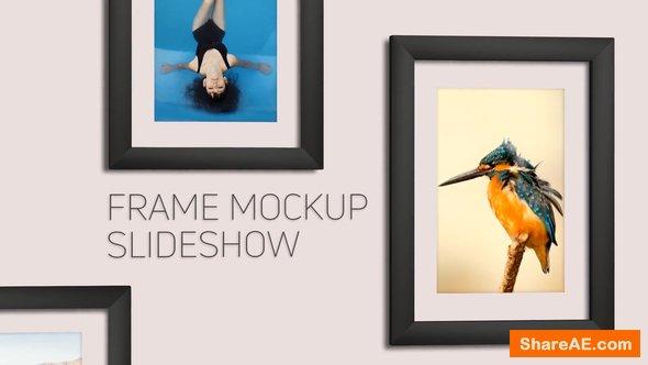 Videohive Frame Mockup Slideshow