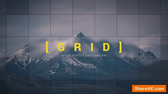 Videohive Grid Gallery