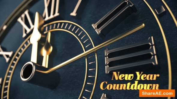 Videohive Elegant New Year Countdown