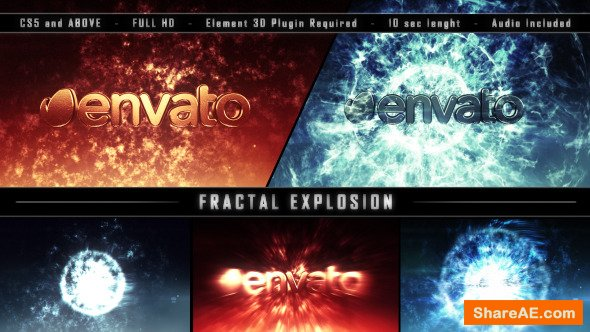 Videohive Fractal Explosion