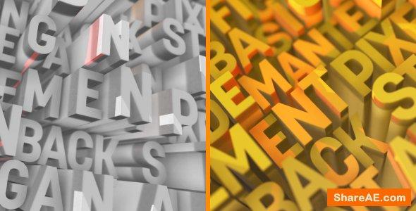 Videohive Letter Logo Opener