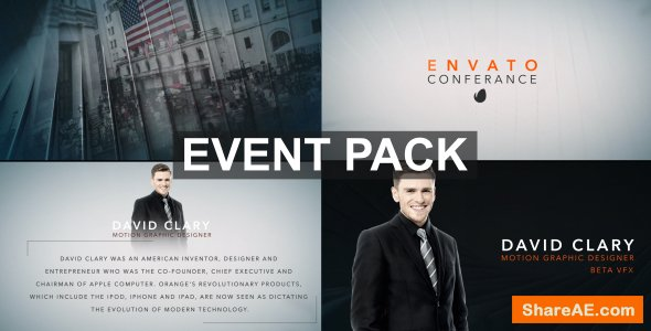 Videohive Clean Event Pack