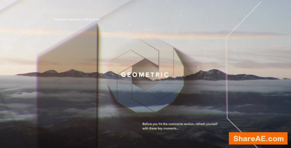Videohive Simple Shapes Opener