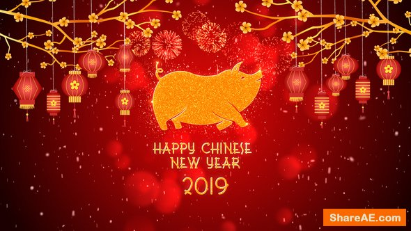 Videohive Chinese New Year 2019 21355711