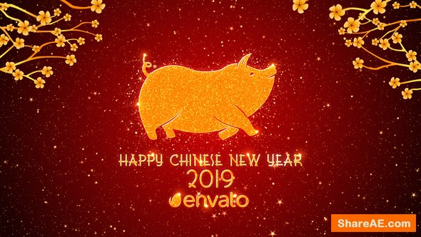Videohive Chinese New Year Greetings 2019