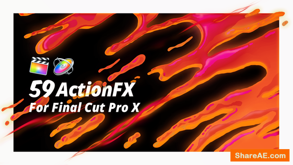 Videohive ActionFX | Fire Smoke Water Effects for Final Cut Pro