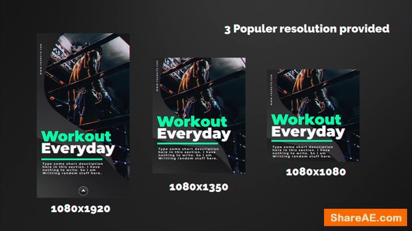 Videohive Sports Instagram Stories