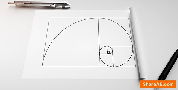 Videohive Phi Golden Ratio Logo