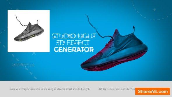 Videohive Studio Light I 3D Effect Generator