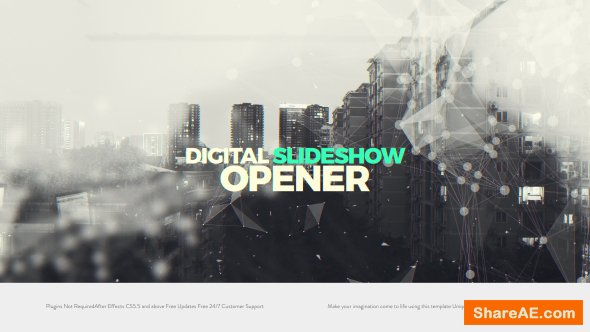 Videohive Digital Slideshow I Opener