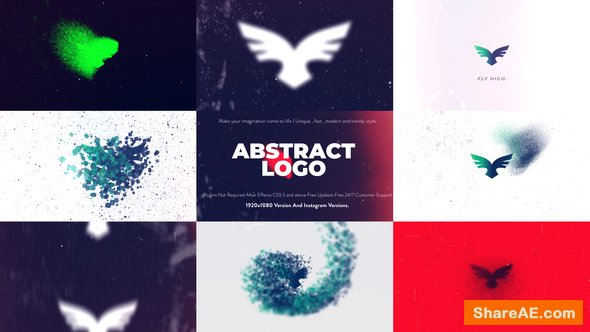 Videohive Abstract Logo Animation