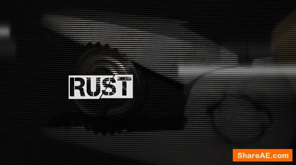 "Videohive ""Rust"" Opening Titles"