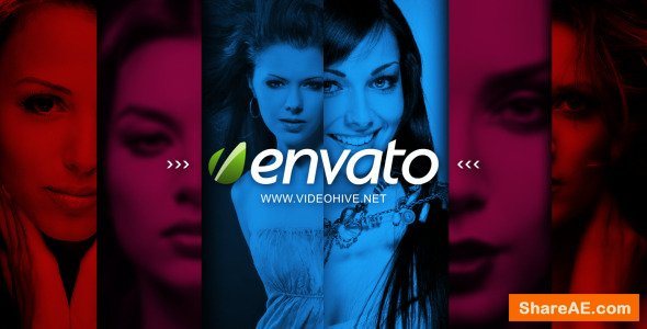 Videohive Colorful Sliding