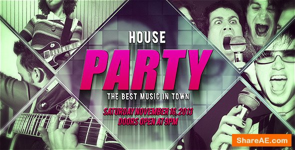 Videohive House Party