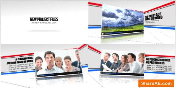 Videohive Line Corporate Presentation