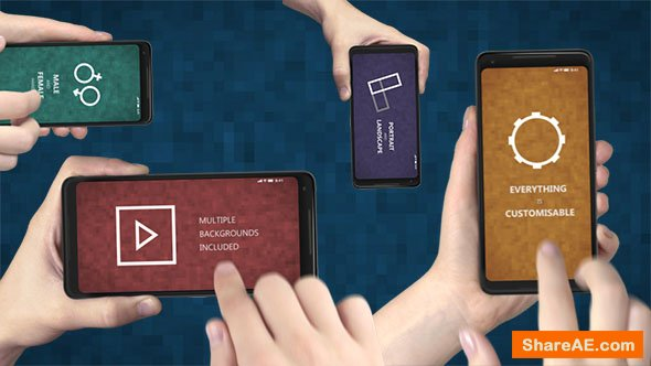 Videohive Smartphone App Presentation Promo