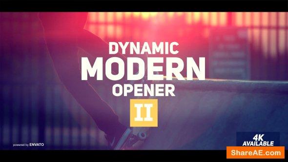 Videohive Dynamic Modern Opener II