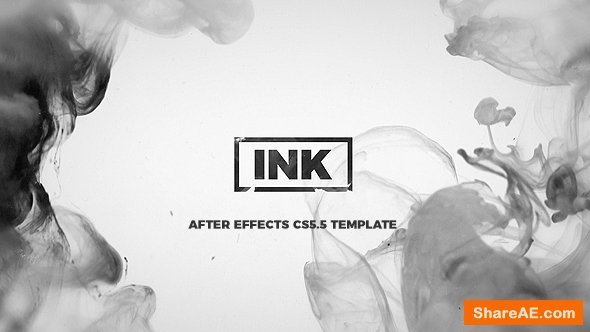 Videohive INK Titles / Slideshow