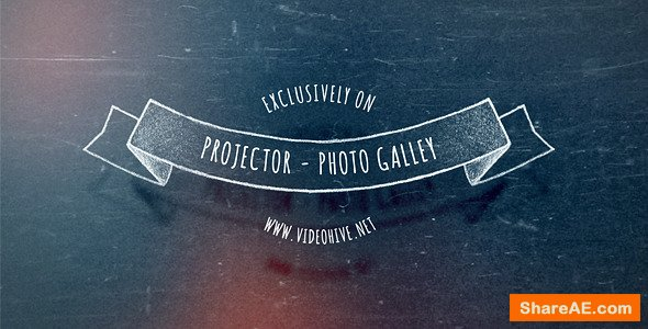 Videohive Slide Projector - Photo Gallery