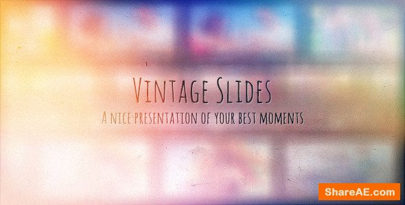 Videohive Vintage Slides - Photo Gallery
