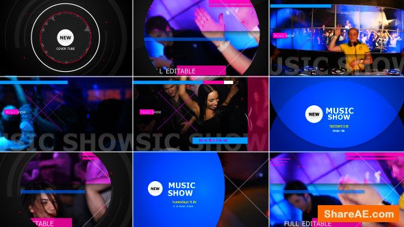 Videohive Music Show