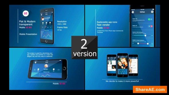Videohive Iphone 6 UI Presentation