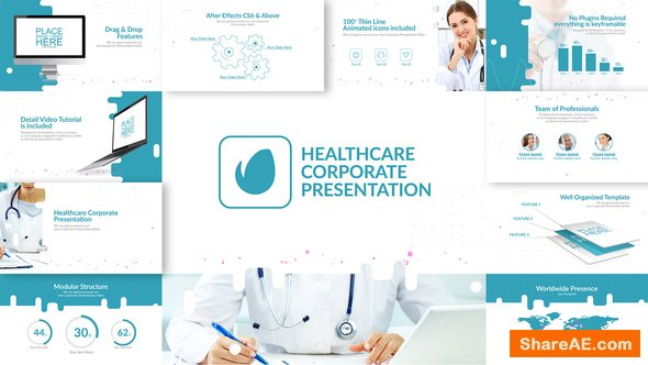 Videohive Healthcare & Corporate Presentation