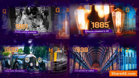 Videohive Digital History