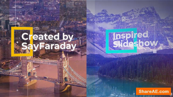 Videohive Inspired Slideshow 22082223