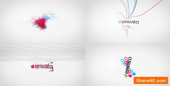 Videohive Kinetic Tricolor - A Quick Logo Reveals Package