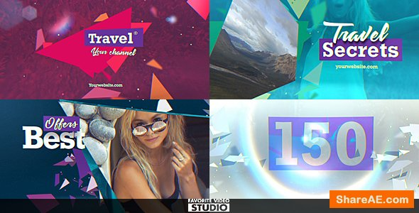 Videohive Travel Multifunction Broadcast Pack
