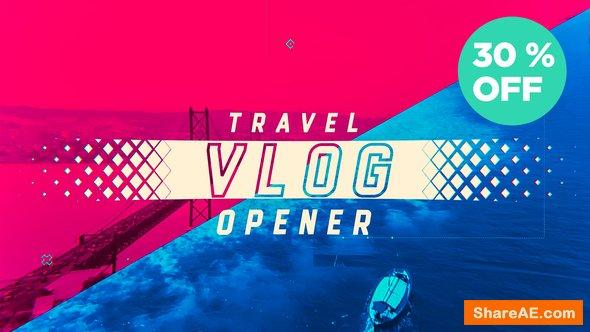 Videohive Travel Vlog Opener
