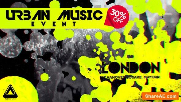 Videohive Urban Music Night