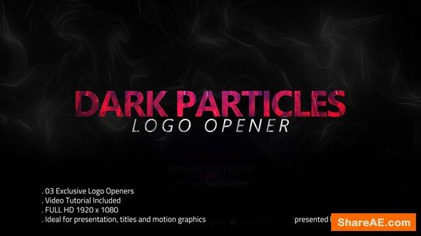 Videohive Dark Particles Opener