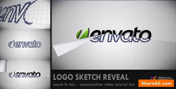 Videohive Logo Sketch Reveal