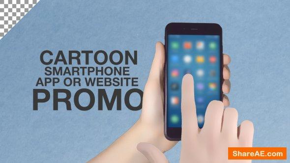 Videohive Cartoon Smartphone App Promo ToolKit