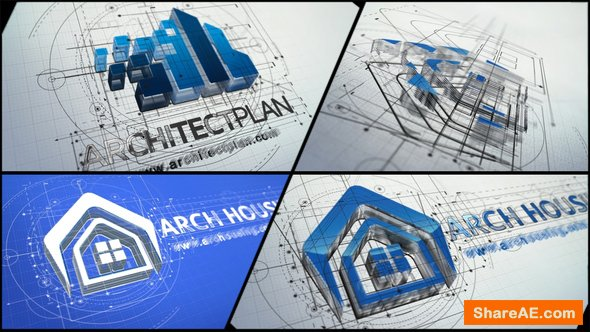 Videohive Architect Logo Reveal 22143007