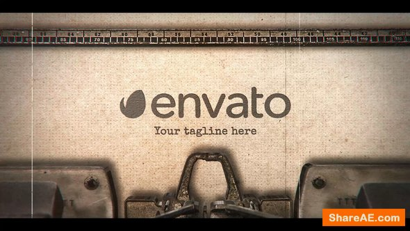 Videohive Typewriter Stomp Intro