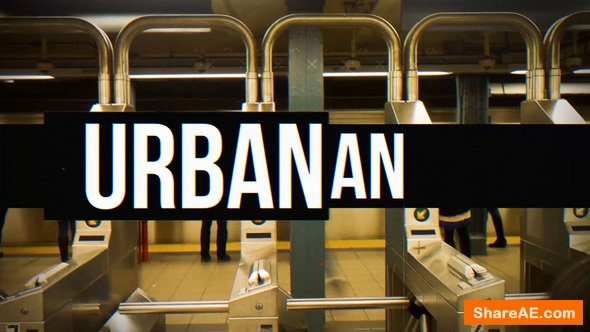 Videohive Urban Intro 21163852
