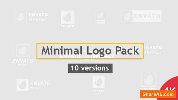 Videohive Minimal Logo Pack | 10 Versions