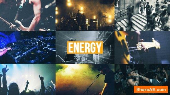 Videohive Energy Urban Opener