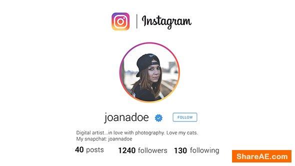 Videohive Quick Instagram
