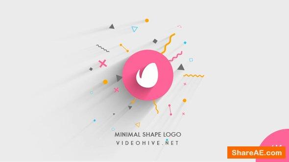 Videohive Minimal Shape Logo Reveal