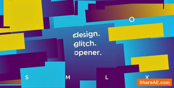 Videohive Glitch Opener 19621590