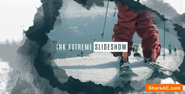 Videohive Ink Extreme Slideshow
