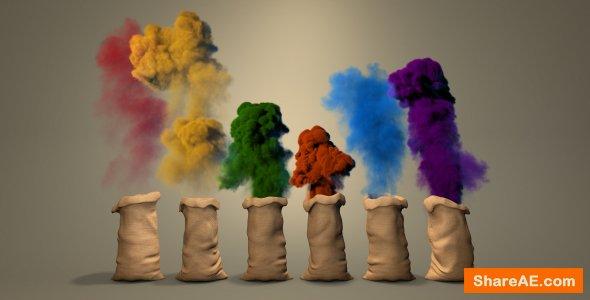Videohive Color Dust Logo