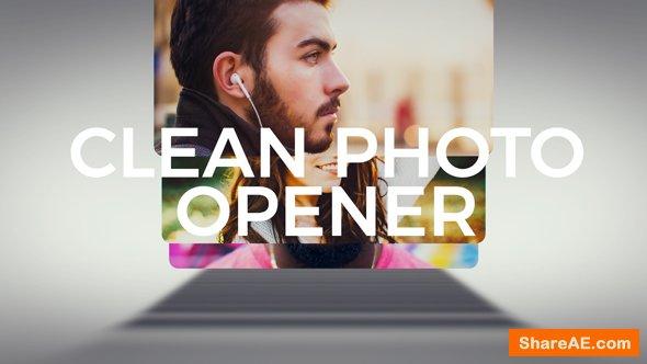 Videohive Clean Photo Logo Opener 21246247