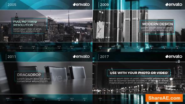 Videohive Corporate Timeline
